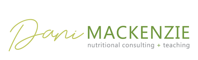 Dani MacKenzie, Registered Holistic Nutritionist